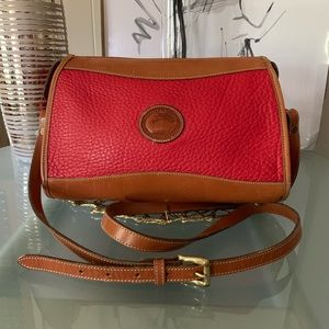 Dooney & Bourke Vintage Red Crossbody Bag